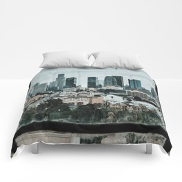 Framing Los Angeles Comforters