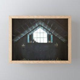 You Left Me In The Dark Framed Mini Art Print
