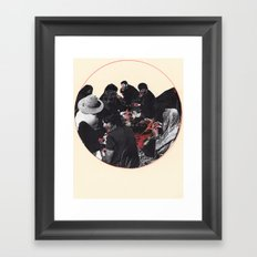 the feast Framed Art Print