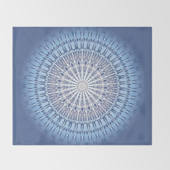 Blue Mandala by ninabaydur