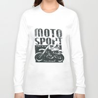 sport Long Sleeve T-shirts featuring Motor Sport by Tshirt-Factory