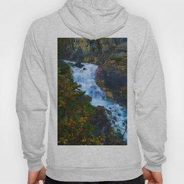 White Falls along the Berg Lake Trail in BC Hoody