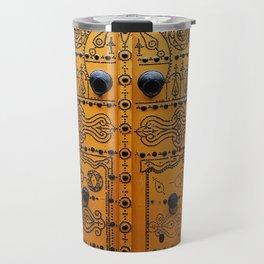 Medina Yellow Travel Mug