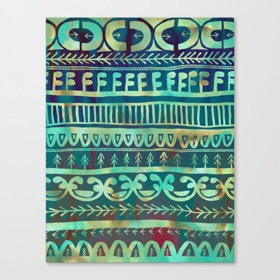 Noni- Green Canvas Print