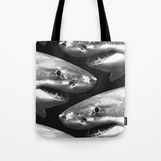 Shark pattern Tote Bag