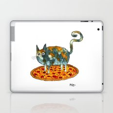 Pepperoni, Black Olives and Cat Laptop & iPad Skin