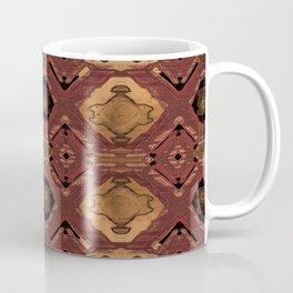 Copper Metallic Neo Tribal Boho Print Coffee Mug