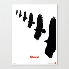 CUBA: Silencio! Canvas Print