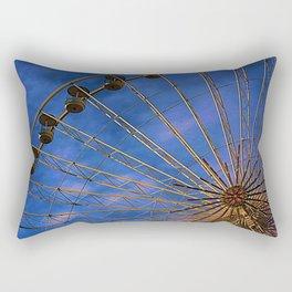 La roue tourne Rectangular Pillow