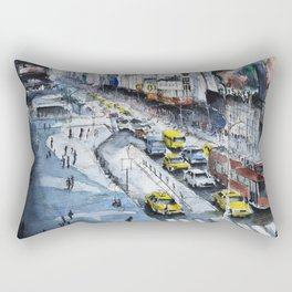Time square - New York City Rectangular Pillow