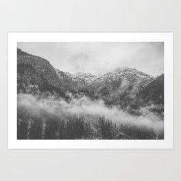 Moody clouds 2 Art Print