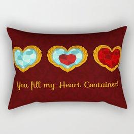 HEART CONTAINER Rectangular Pillow