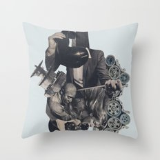 Aftershock Throw Pillow