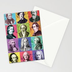 Composers Compilation Stationery Cards