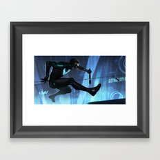 Nightwing Beyond Framed Art Print
