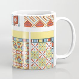 Jupiter Minerva and Hercules from An  of the Egyptian Grecian and Roman costumes by Thomas Baxter (1 Coffee Mug