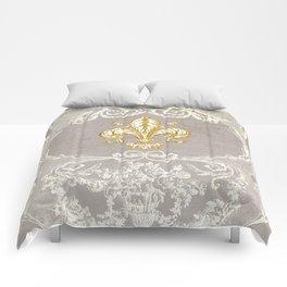 Fleur De Lis Comforters