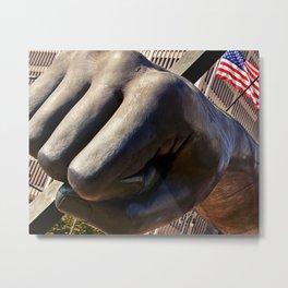 The Fist Metal Print
