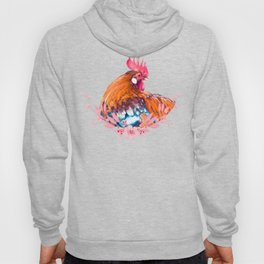 Colorful Rooster Hoody