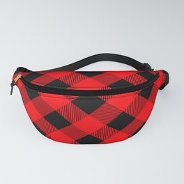 Buffalo Plaid Scottish Lumberjack Fanny Pack