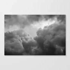 Grainy Cloud Canvas Print