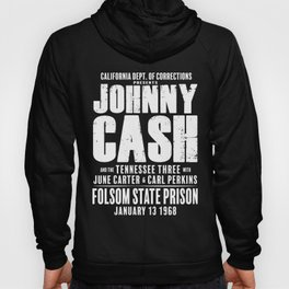 Johnny Cash at Folsom Prison T-shirt Hoody