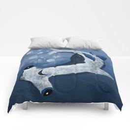 Dee Sea Hammerhead Shark Comforters
