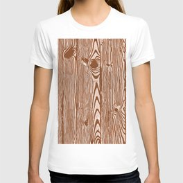 c13D Woodgrain T-shirt