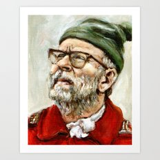 The Narrator - Moonrise Kingdom - Bob Balaban Art Print