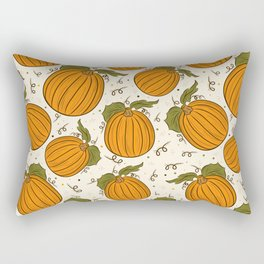 Abstract pumpkin pattern Rectangular Pillow
