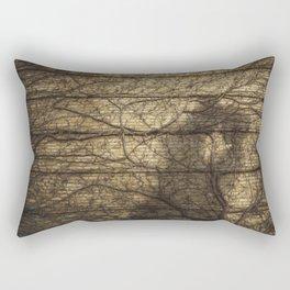 Rooted Rectangular Pillow