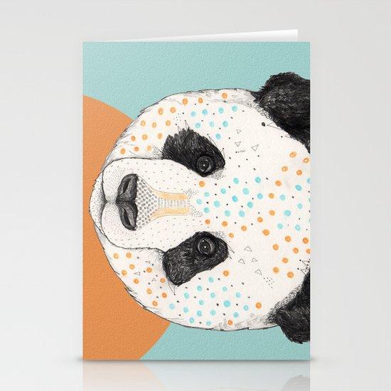 Polkadot Panda Stationery Cards