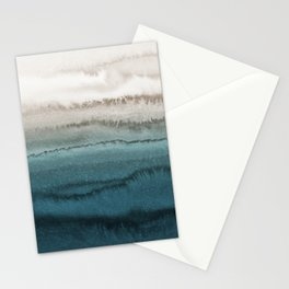 WITHIN THE TIDES - CRASHING WAVES TEAL Stationery Cards