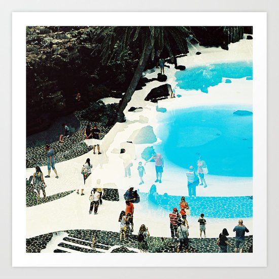 swimming pool 3 Art Print