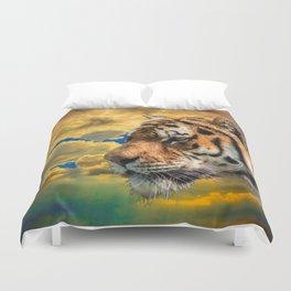 Free Tiger Duvet Cover