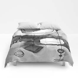 Magical Thinking No. 2O by Kathy Morton Stanion Comforters