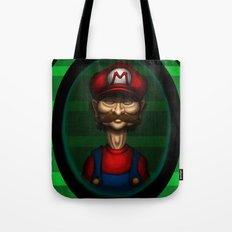 Sad Mario Tote Bag