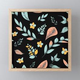 Flower Design Series 21 Framed Mini Art Print