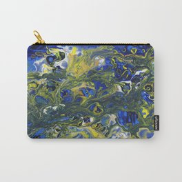 Seaweed in the Surf Carry-All Pouch