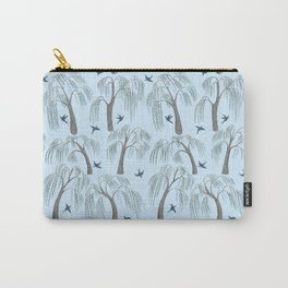 Swallows in the Weeping Willows Carry-All Pouch