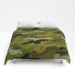 Camouflage 1 Comforters