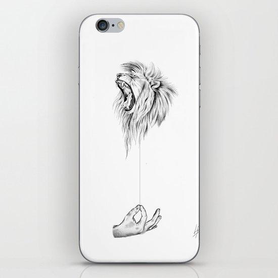 Hear me Roar iPhone & iPod Skin