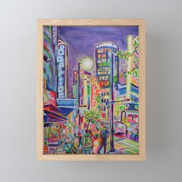 Granville At The Warehouse, Vancouver Framed Mini Art Print