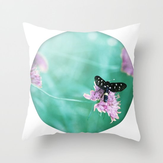 madame B. Throw Pillow