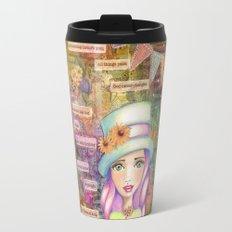 Let Nothing Disturb You Travel Mug