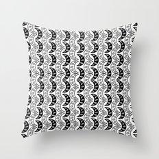 Army of eyes Throw Pillow