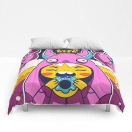 Overbite: Sour Bunny 1 Comforters
