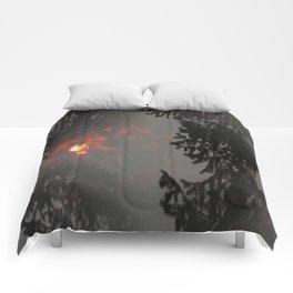 Fiery Smokey Sun.... Comforters