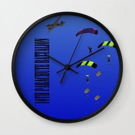 10th Parachute Battalion Wall Clock