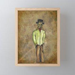 Frankenstein's Monster Framed Mini Art Print